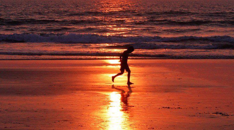 goa, arambol sunset in Arambolphoto preview