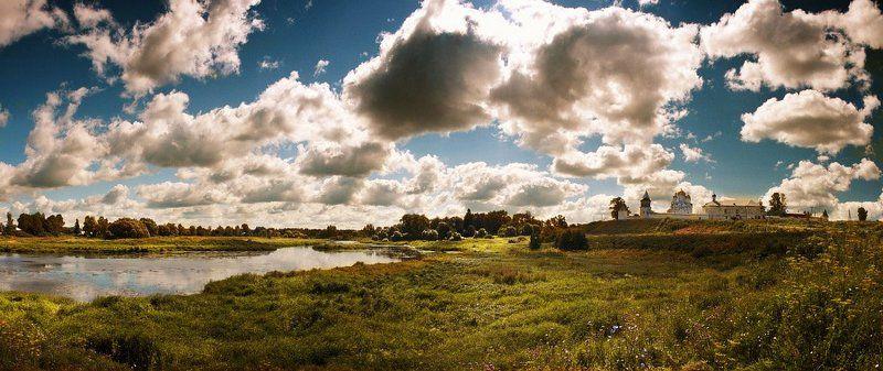 река, монастырь ---photo preview