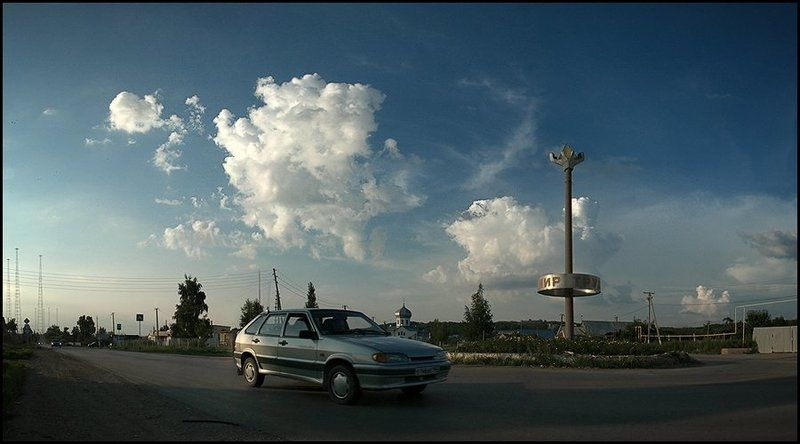 ваз, облако Вечеромphoto preview