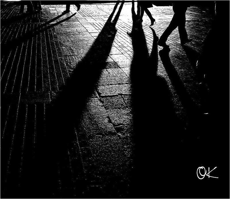 москва, закат, тени, манежная площадь Закат на Манежнойphoto preview