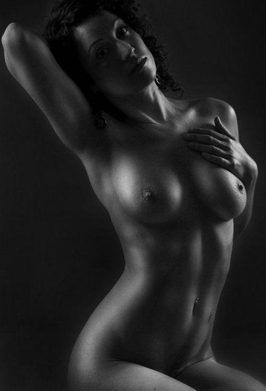 девушка, портрет, ню, тело, красота Silver Maytephoto preview