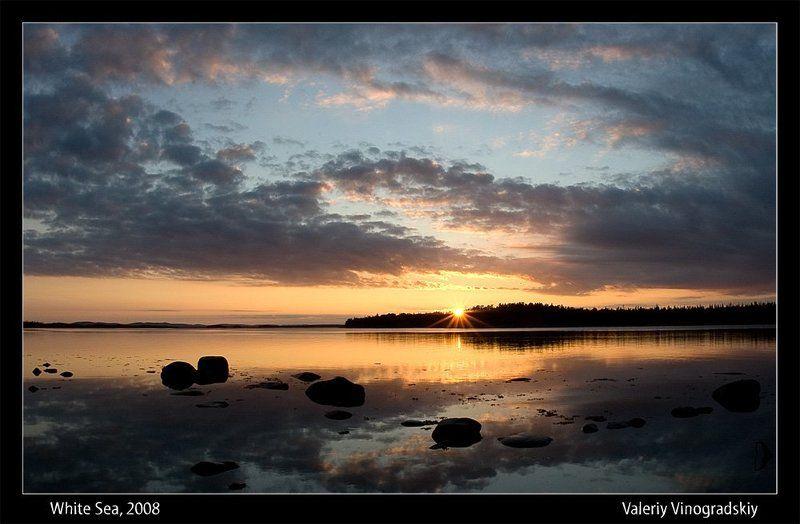 закат море камни солнце вечер Вечер. Море. Камни...photo preview