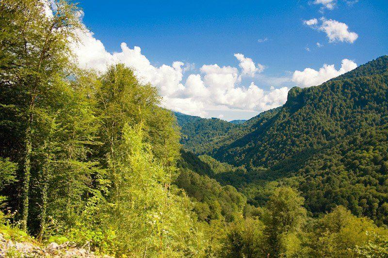 кавказ, горы, перевал Перевалphoto preview