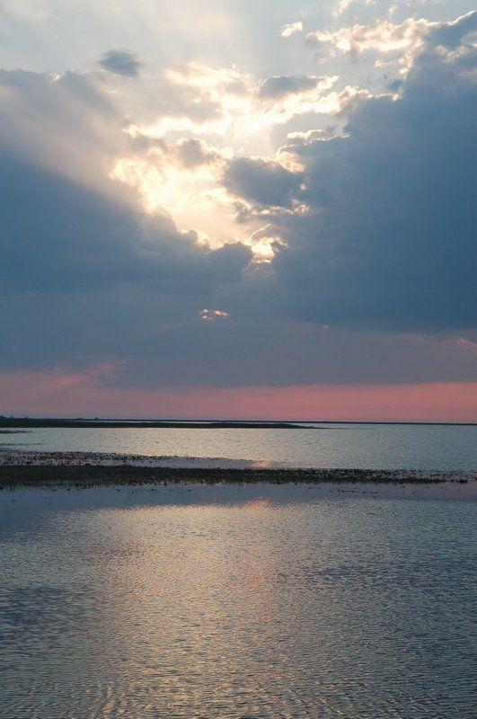 закат Закат на Тендреphoto preview