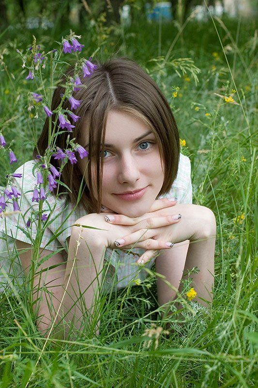 perec, ольга андреева, цветок, трава ***photo preview