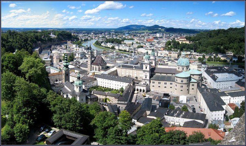 австрия, зальцбург, хоэнзальцбург Зальцбургphoto preview