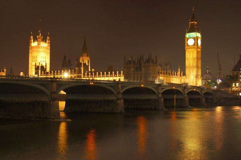 лондон, big ben, большой бен, ночь, темза, thames London Brownphoto preview