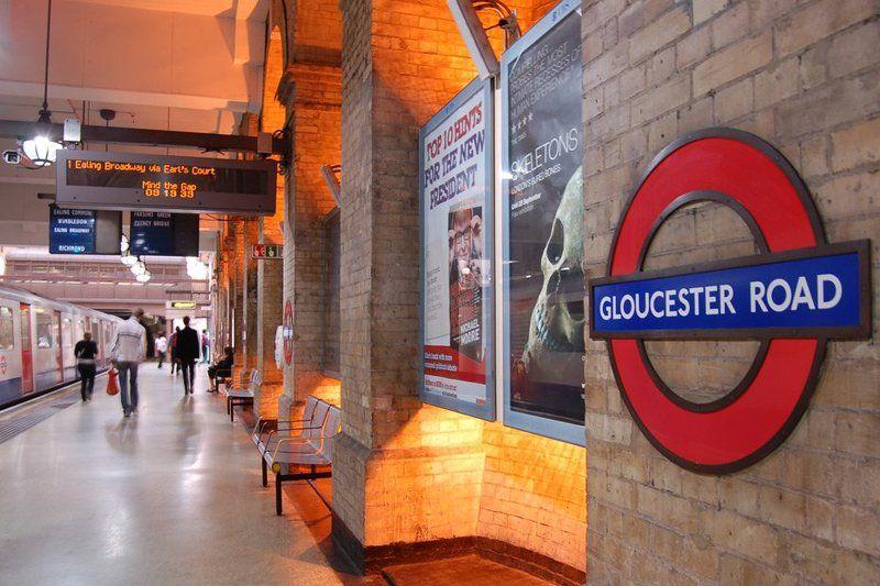 лондон, gloucester road, underground, метро, станция London Undergroundphoto preview
