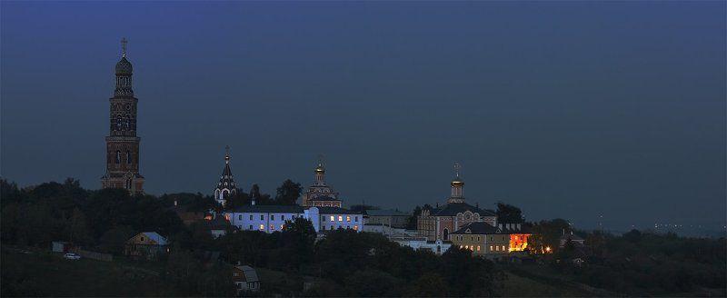 монастырь, ночь Ночь над Монастыремphoto preview