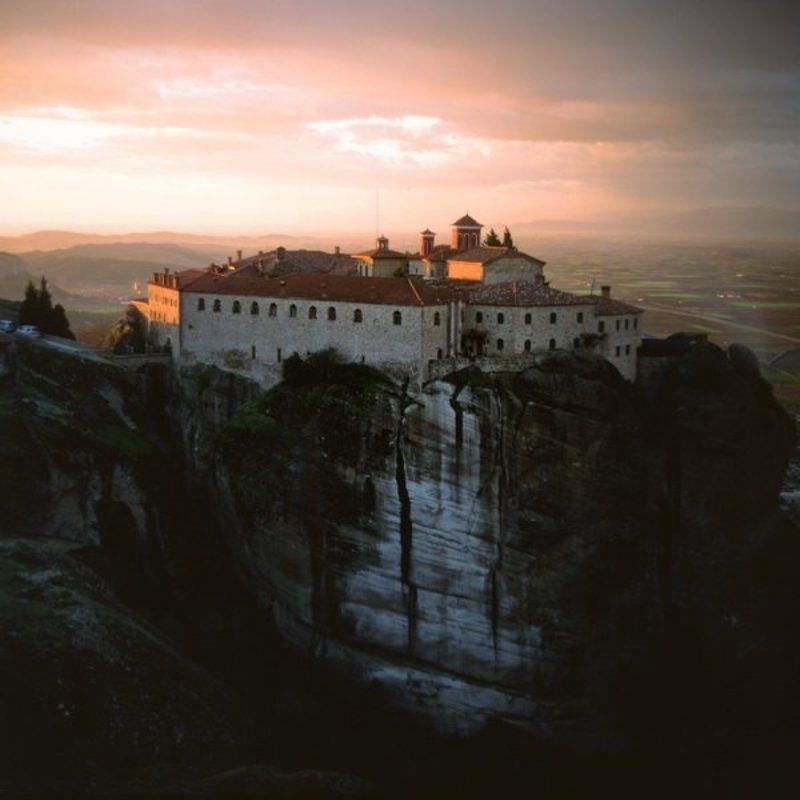греция, метеоры, монастырь Метеорыphoto preview