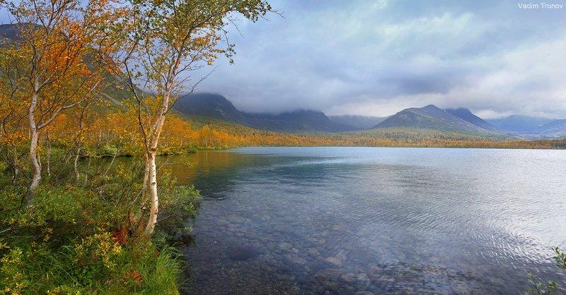 кольский, север, заполярье, хибины, малый вудьявр Осенний Вудьяврphoto preview