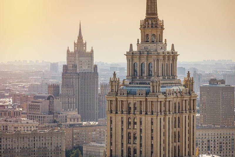 гостиница украина; мид; архитектура; москва Гостиница Украина и МИДphoto preview