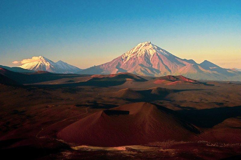 камчатка, вулкан, толбачик, пейзаж Марсианские хроникиphoto preview