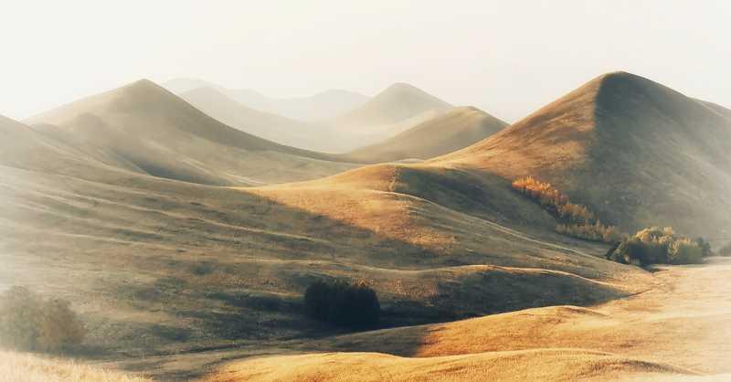 утро, рассвет, восход, туман, лучи Mountain dreamsphoto preview