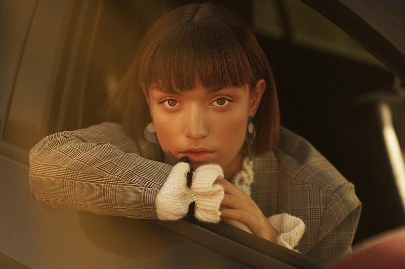 портрет, девушка, машина, красота, москва, химки, инстаграм Таняphoto preview