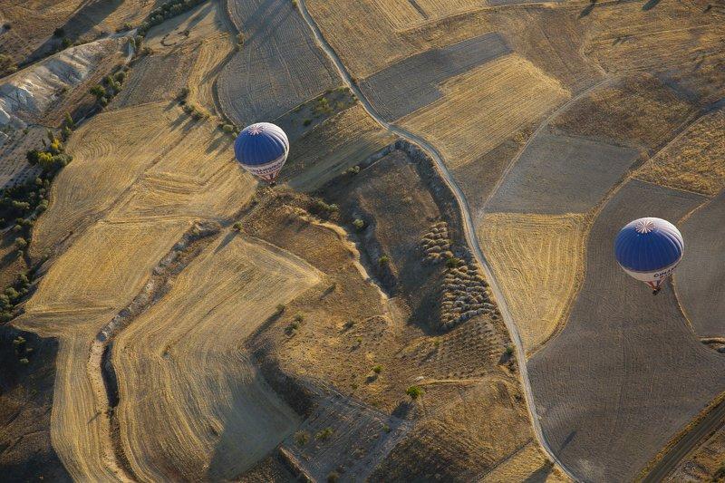 aerial, view, look, fly, полёт, небо, земля, шар, воздух, путешествие, приключение, Lookphoto preview