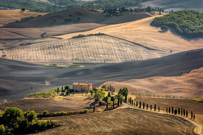 Осенняя Тоскана фото превью