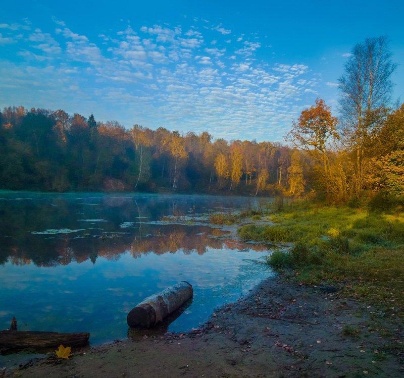 Октябрь. На речке.photo preview