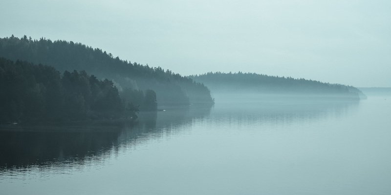 утро, туман, осень, ладога, ладожское озеро, озеро, красота, фотография, красиво Утро на Ладоге.photo preview