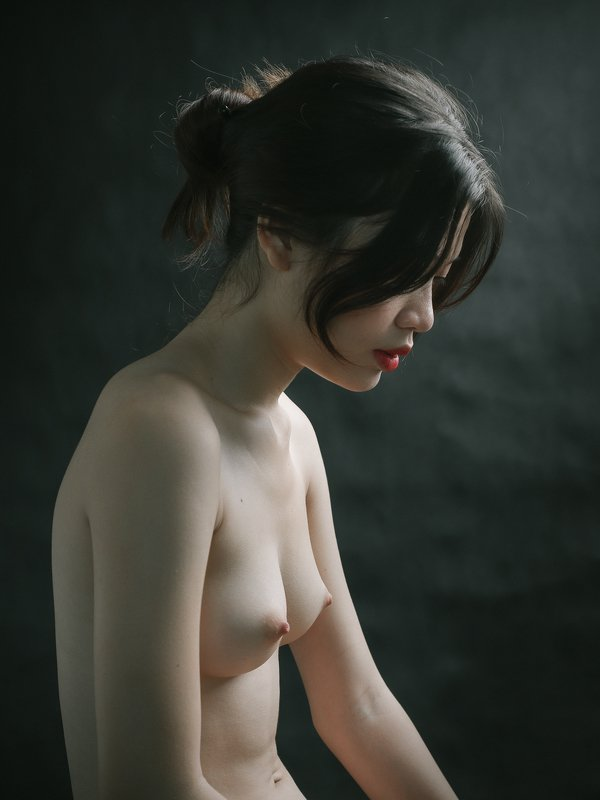 portrait, female, woman, girl, asian, vietnam, vietnamese, young, beauty, glamour, nude, fine nude, light, studio, mood * * *photo preview