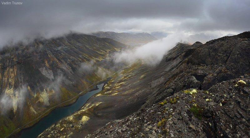 кольский, север, заполярье, хибины Облачный Поачвумчоррphoto preview