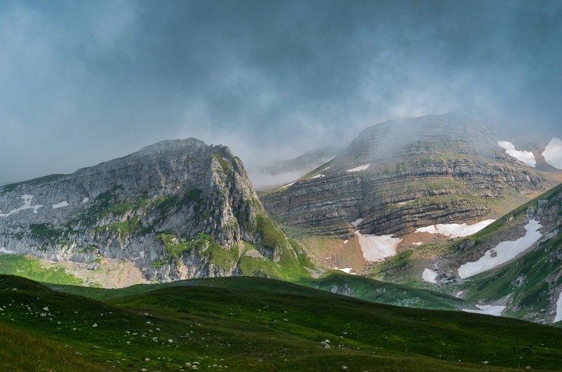 Горы, Оштен, заповедник Хмурые вершиныphoto preview