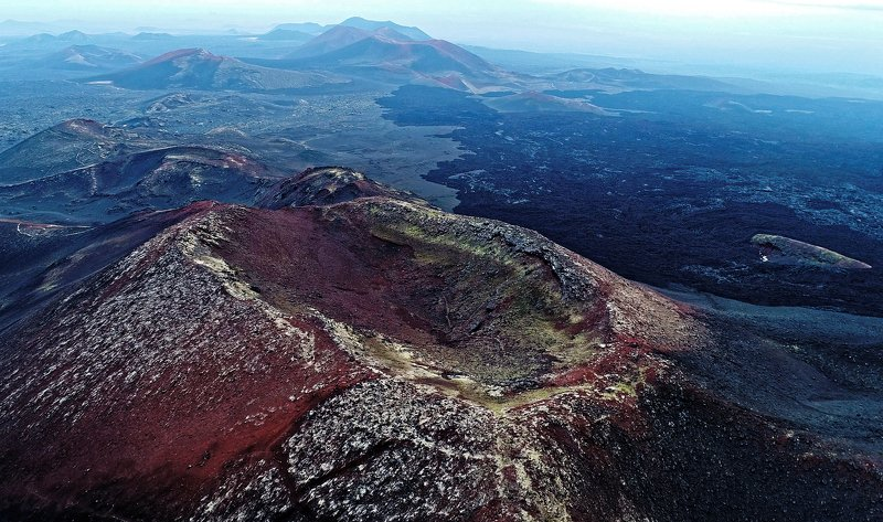 лава, вулкан, толбачик, камчатка, пейзаж Лавовые поля вулкана Толбачикphoto preview