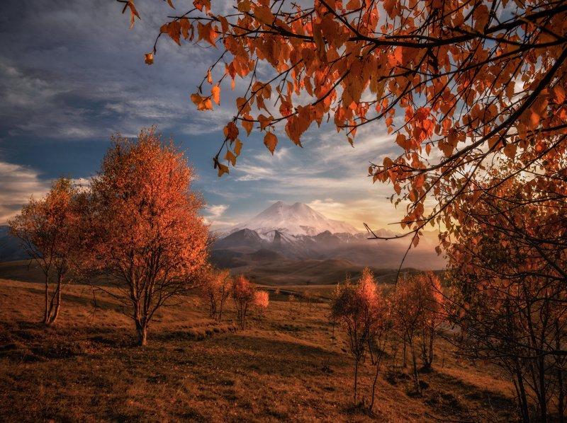 кавказ, приэльбрусье Золотая осень в Приэльбрусье.photo preview