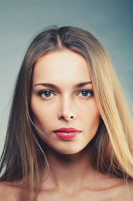 портрет, губы, волосы, Юля 2photo preview