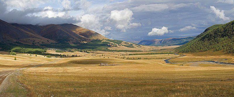 горы, алтай, река, джазатор, жазатыр Жазатырphoto preview