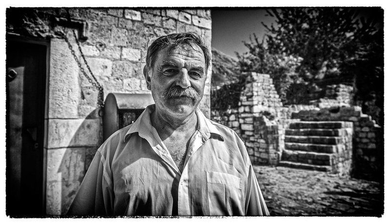 Simple portrait of a man in Montenegrophoto preview