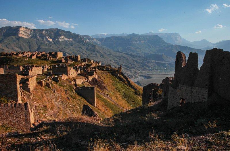 аул,аул филя,горы,дагестан, Развалины старого аула..photo preview