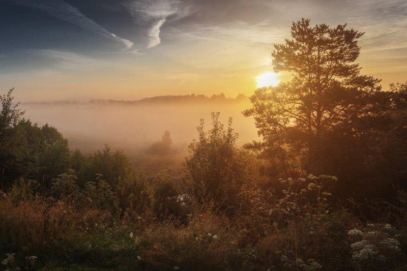 озеро, горы, лес, природа, закат, рассвет, красота, приключения, путешествие, облака, урал А заря-заря-заря, дело божие творя, Золотит леса и пашни светом ясным янтаря. (гр. Любэ)photo preview