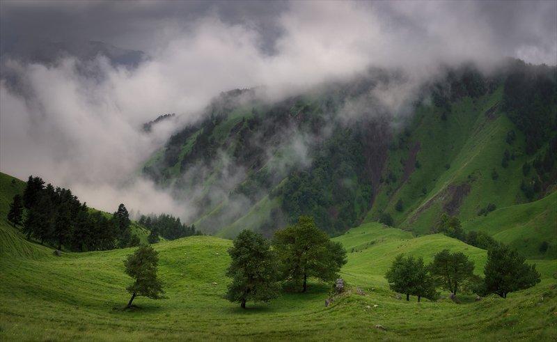 Дождливый перевал.photo preview