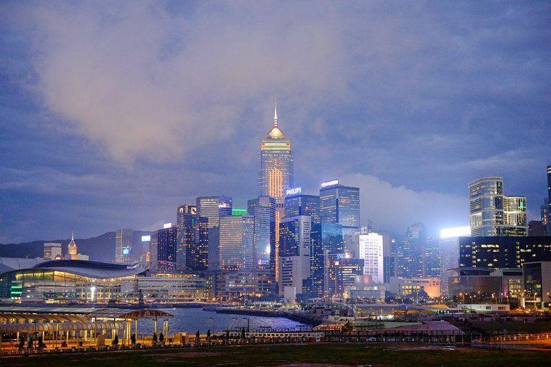 hong, kong Hong Kong ( сумерки )photo preview