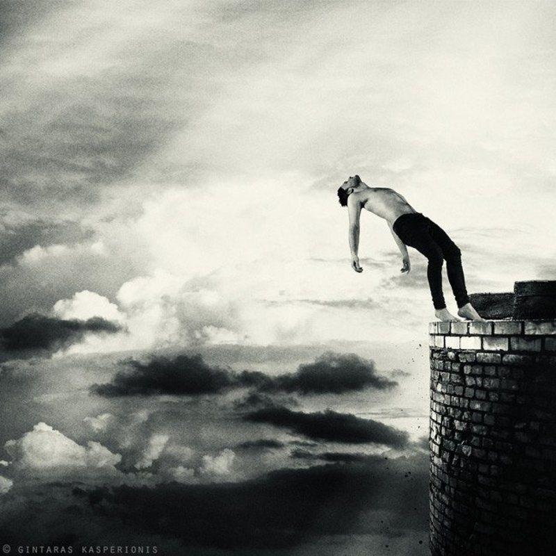 sky, boy, clouds, man, square, photo, art, nude, gallery, toned, conceptual, feeling, emotion, modern, male, idea, photography, artistic, artwork, mono, foto, pentax, fine, 1x1, contemporary, arts, original, kasperionis, gintaras On The Edgephoto preview
