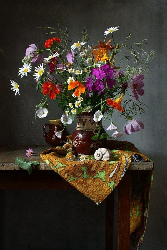 натюрморт, цветы, букет, июль Июльский букетphoto preview