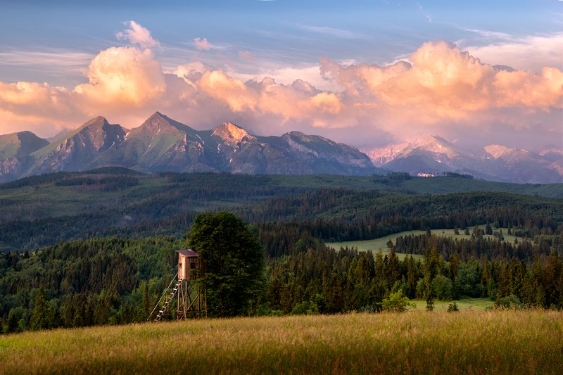 nature, landscape, tatry, pieniny, light, morning, mountains Tatryphoto preview