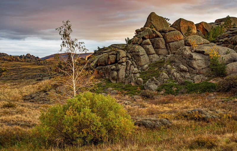 горы Осень в Баянауле фото превью