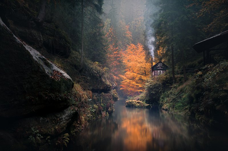 Autumn Valleyphoto preview