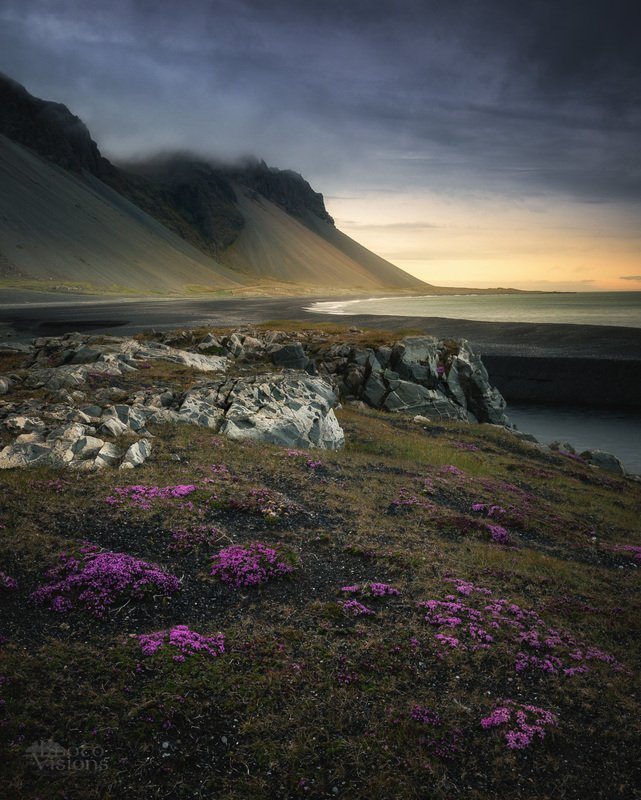 iceland,mountains,sea,sea shore,mood,summer,moody, Shores of Icelandphoto preview