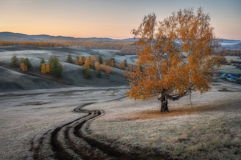 екатеринбург, яковлевфототур, фототур, василийяковлев, урал Морозное осеннее утроphoto preview
