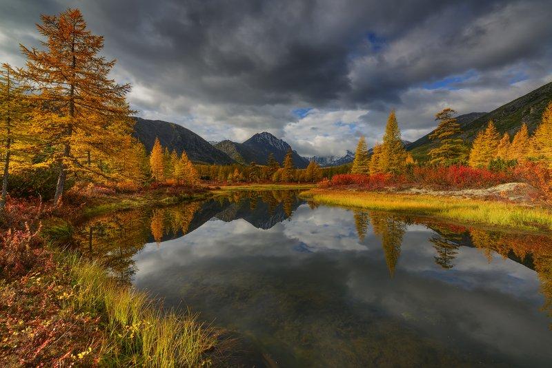 озеро, джека, лондона Осень на Колыме...photo preview