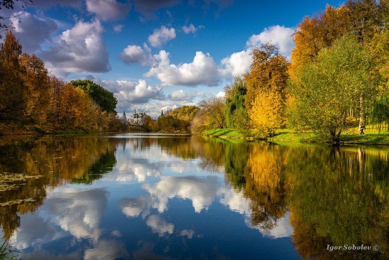 москва, измайлово, осень Осенние облакаphoto preview
