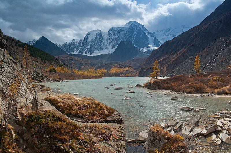 горы, алтай, озеро, шавлинское, река, шавла, северо-чуйский, хребет там где Шавла берет началоphoto preview