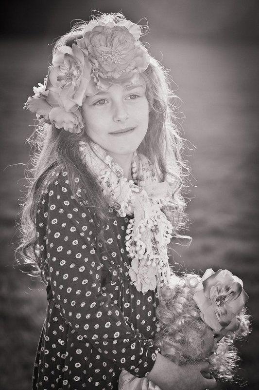 child, portrait Little Fairyphoto preview