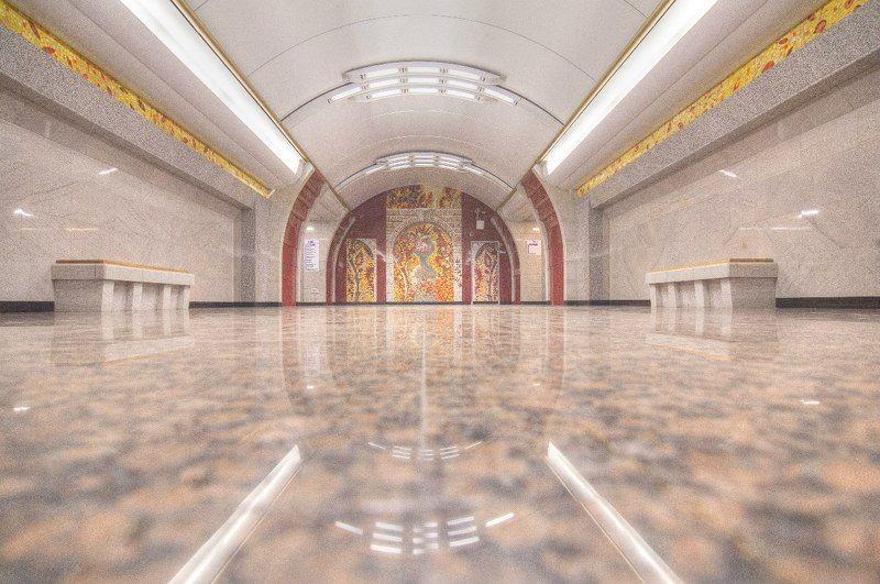 Зарисовки о петербургском метрополитене.photo preview