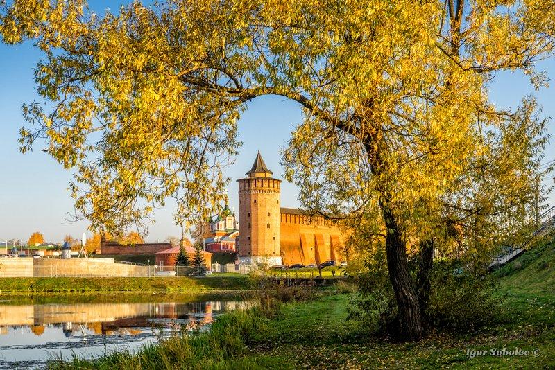 коломна, осень, маринкина башня, Коломна осеньюphoto preview