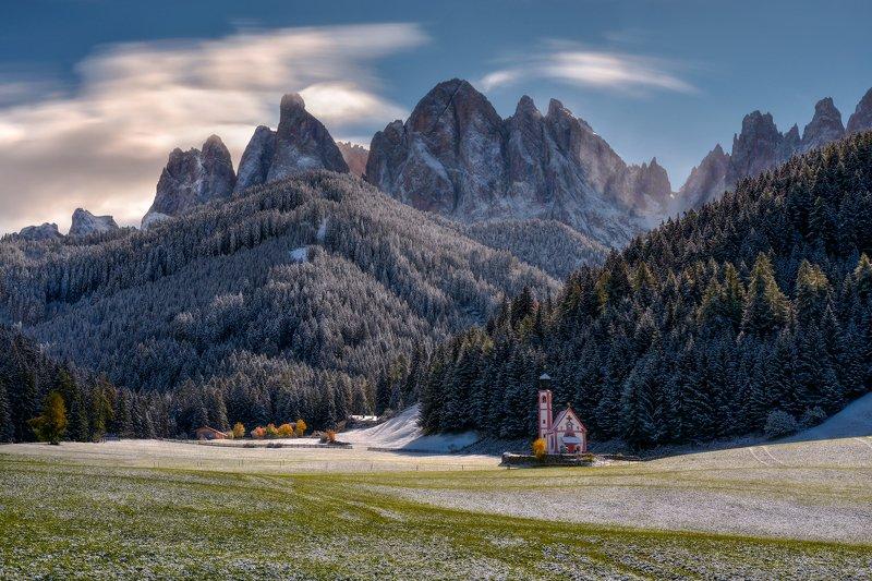 landscape St. Johann Churchphoto preview
