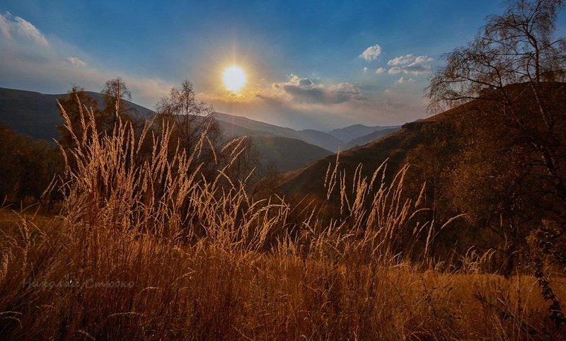 кавказ горы осень аманкол Аманколphoto preview